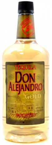 Don Alejandro Tequila Gold